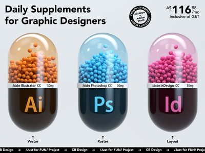 Daily Supplements for Graphic Designers