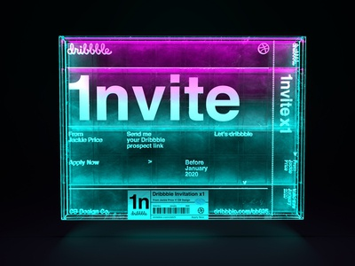Dribbble Invite VOL.7