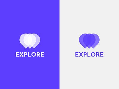 Logo Design for Explore Destinations vector icon branding logo ux design ui logodesign