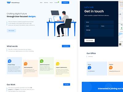 Agency website redesign landingpage bootstrap5 website design agency website agency design