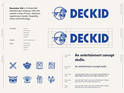 Creative Concept Agency Logo lockup branding agency branding illustration logo design creative agency concept creative logo