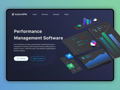 Axiom EPM_Wbsite_UI/UX_Design
