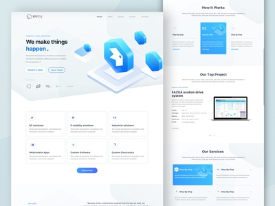 BoxFish_Web design