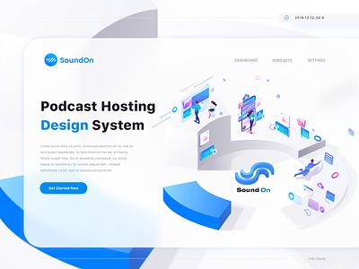 SoundOn_Design System red packet animaiton ikea c4d logo branding banner ad banner illustration