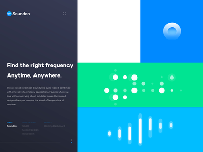 Soundon_Brand_pattern animation