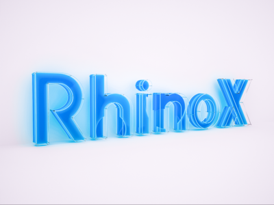 RhinoX Daily Render