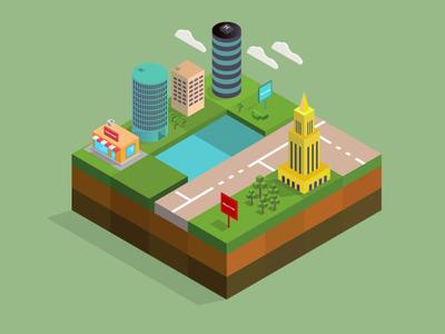 Isometric York City