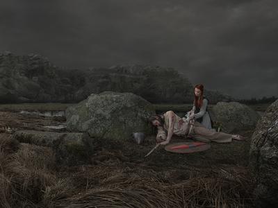 Celtic story photomontage photo fotomontáž retušovat post produkce fotografie photoshop
