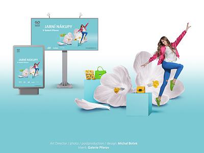 Galerie Prerov - department store fashion department department store social campaign online print ads reklama campaign art director fotomontáž retušovat post produkce fotografie photoshop