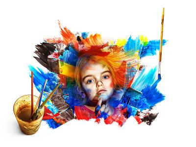 SANTOVKA - department store campain reklama campaign fotomontáž post produkce fotografie photoshop art director ads department store