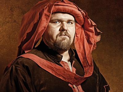 portrait - Venetian merchant portrait photo retušovat post produkce fotografie photoshop