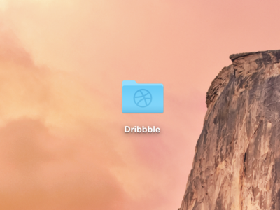 Freebie PSD: OS X Yosemite Folder Icon