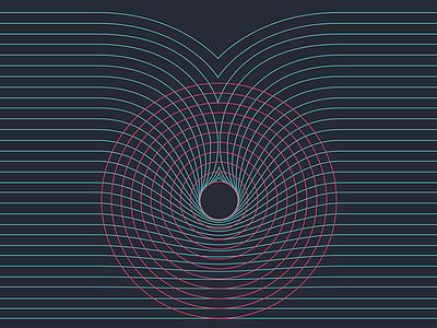 Diagram Experiment retro geometric branding work in progress lines vector diagram