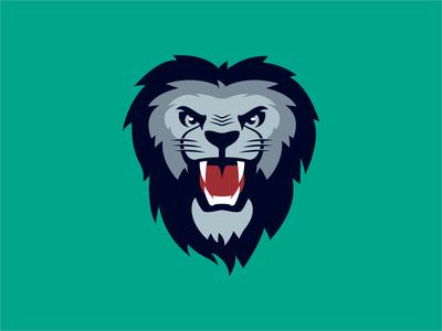 Lion Concept soccer football basketball illustration rejected concept sports lion