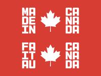 Fait au Canada
