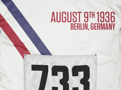 August 9, 1936 poster typography olympics creative history