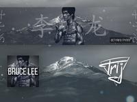 Banner for fans of Bruce Lee