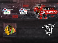 Chicago Blackhawks hockey team