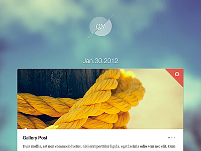 Quicknote blog themeforest theme personal unique functional