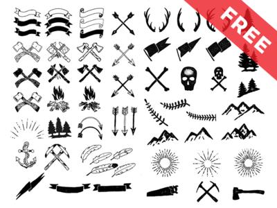 Free vector Decorative Ornaments for logo, web and graphic design ...