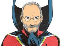 Superhero Steve Jobs