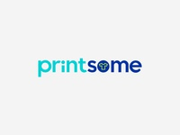 Printsome's logo redesign