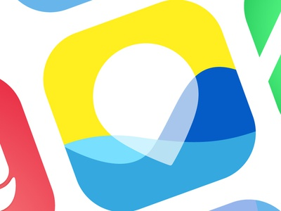 iOS App Icons web branding app flat icon logo vector design
