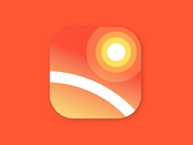 Weather Today app icon logo app icon vector design
