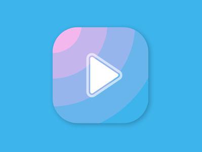 The Play app icon branding logo app icon vector design