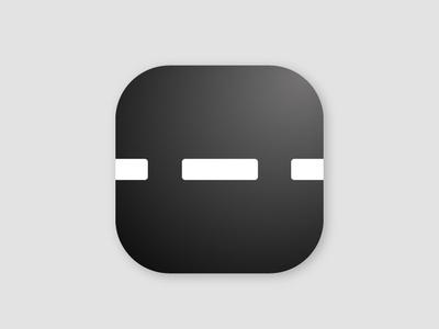 My Ride app icon logo flat icon app vector design