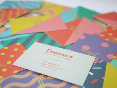 Fearne's Business Cards