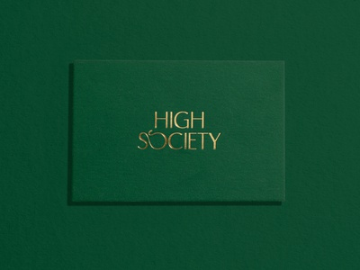 High Society Business Cards