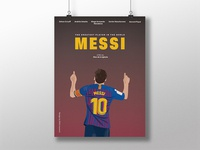 """Poster Design for the movie """"MESSI"""""""