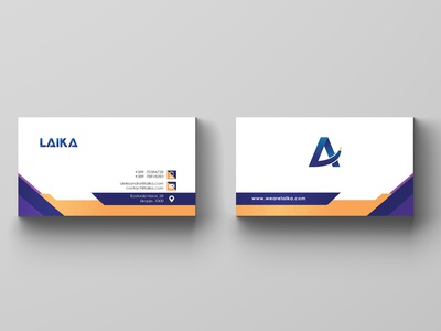 "Business Card for ""Laika"""