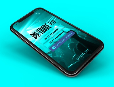 STROBE | Mobile App login design login page splashscreen mobile app mobile app design app ux ui brand and identity brand branding