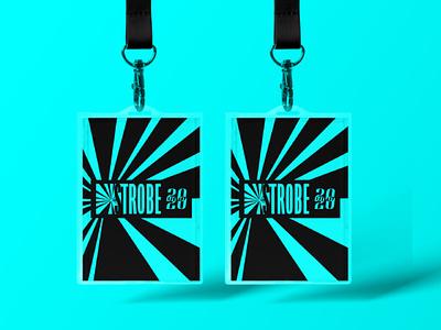 STROBE | Lanyards promotional promotional design music festival lanyard packaging illustrator vector identity design brand and identity brand logo branding