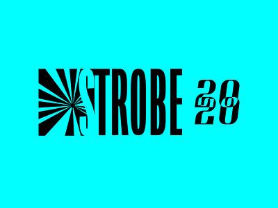 STROBE | Logo & Icon Design music festival music branding design brand identity brand design logos logodesign logotype lettering illustrator vector logo design identity design brand and identity brand logo branding