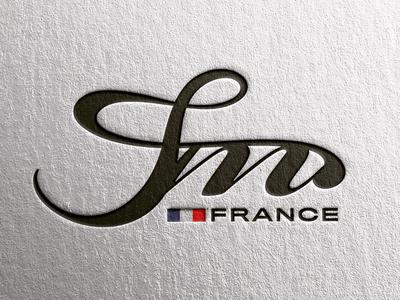 Logo Design for J&M 🇫🇷 typography logomark brandmark logos visual identity branding logo design logo