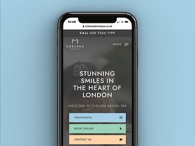 Mobile Friendly ✅ responsive web website design website london spa luxury branding rebrand