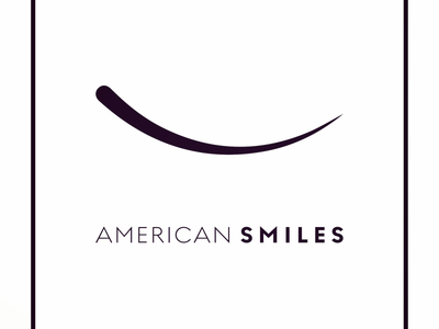 Simple luxury brand concept for American Smiles.