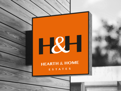 Signage concept for luxury estate agents
