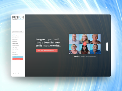 Website Launch for Fusion.