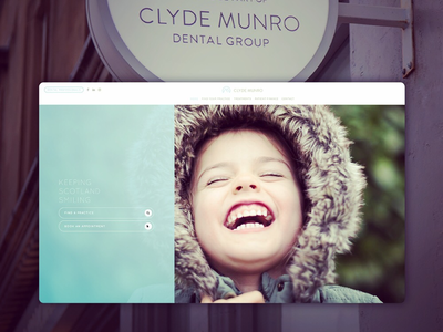 New site 🚀 for Clyde Munro Dental Group