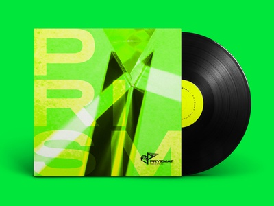 Prism Vinyl Record Cover Creative