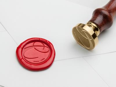Branded Wax Seal + Visual Identity