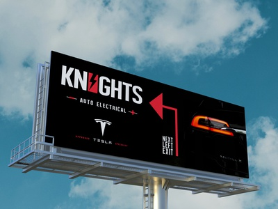 Billboard Creative + Branding for Knights