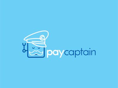 Robot Captain Logo brand identity branding brand logo design logo