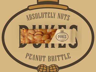 Absolutely Nuts 🥜 Peanut Brittle logodesign branding design brand identity brand design packagingdesign packaging design packaging mockup packaging logo design identity brand and identity brand logo branding