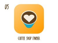 Coffee shop finder icon
