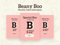 Coffee Subscription Pricing